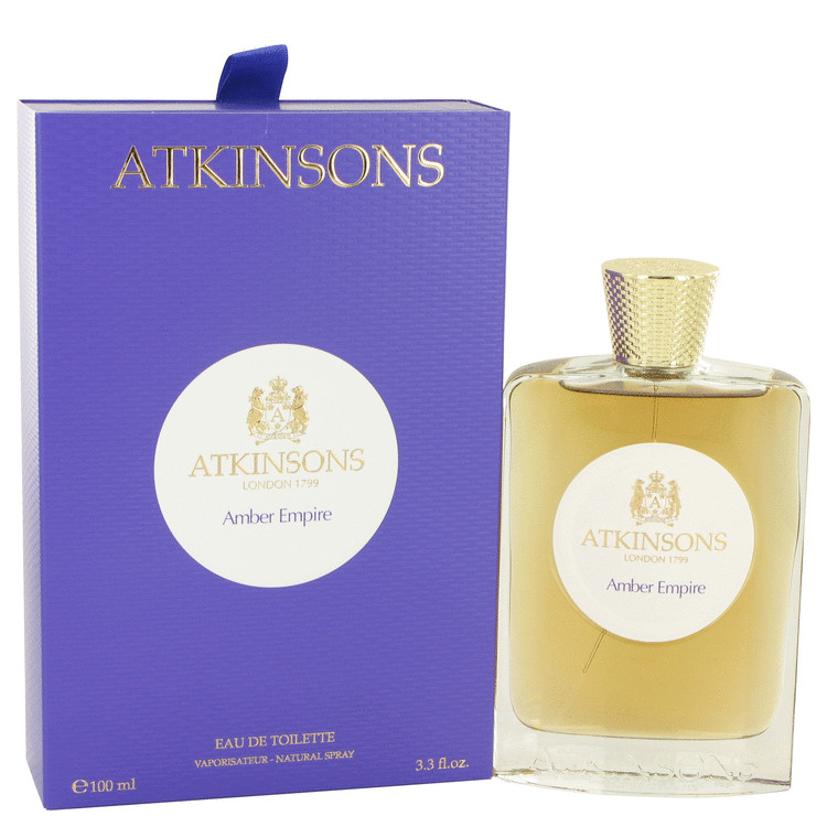 Amber Empire by Atkinsons 3.3 oz Eau De Toilette Spray for Women