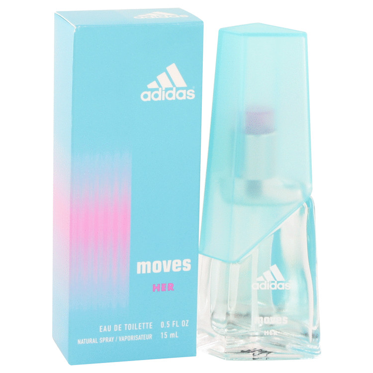 Adidas Moves by Adidas Eau De Toilette Spray 0.5 oz for Women