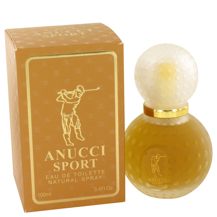 Anucci Sport by Anucci 3.4 oz Eau De Toilette Spray for Men