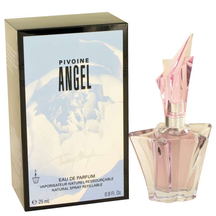 Angel Peony by Thierry Mugler 0.8 oz Eau De Parfum Spray Refillable for Women