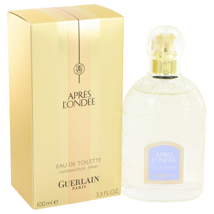 Apres L'ondee by Guerlain 3.4 oz Eau De Toilette Spray for Women