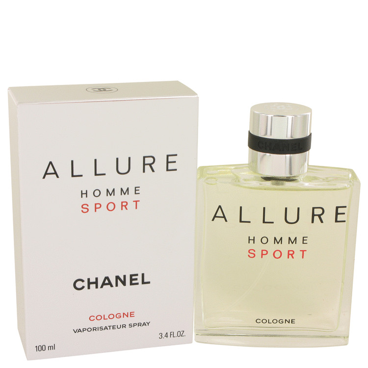 Allure Sport by Chanel 3.4 oz Cologne Sport Spray for Men
