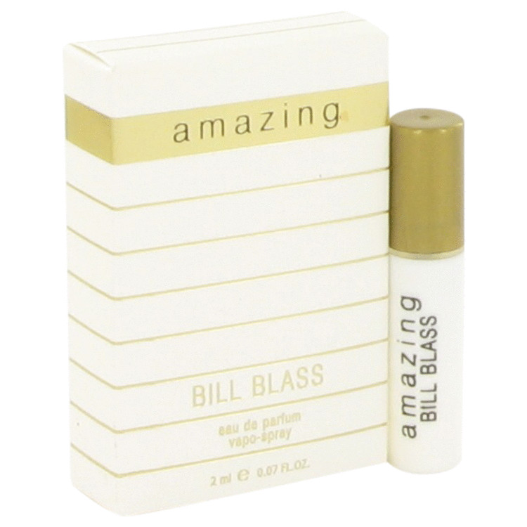 AMAZING by Bill Blass Vial Spray (Sample) .07 oz for Women