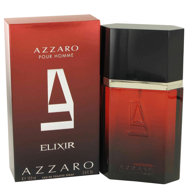 Azzaro Elixir by Azzaro 3.4 oz Eau De Toilette Spray for Men