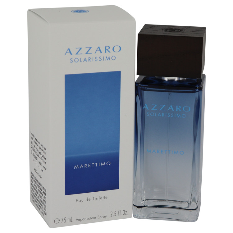 Azzaro Solarissimo Marettimo by Azzaro 2.5 oz Eau De Toilette Spray for Men
