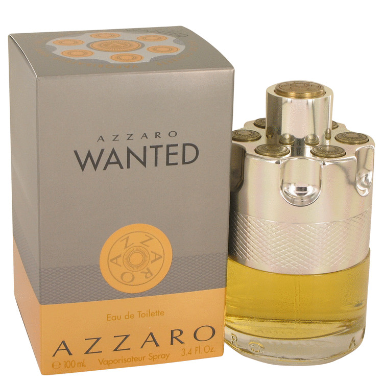 Azzaro Wanted by Azzaro 3.4 oz Eau De Toilette Spray for Men