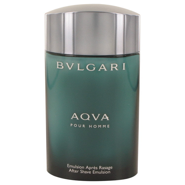 AQUA POUR HOMME by Bvlgari After Shave Emulsion (Tester) 3.4 oz for Men