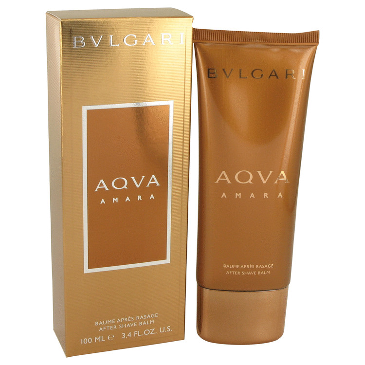 Bvlgari Aqua Amara by Bvlgari After Shave Balm 3.4 oz for Men