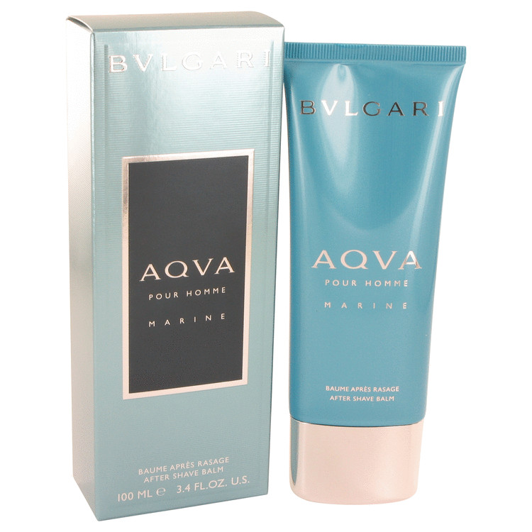 Bvlgari Aqua Marine by Bvlgari After Shave Balm 3.4 oz for Men