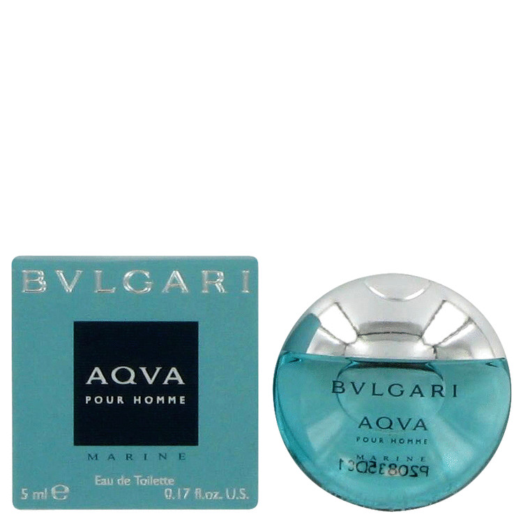 Bvlgari Aqua Marine by Bvlgari Mini EDT .17 oz for Men