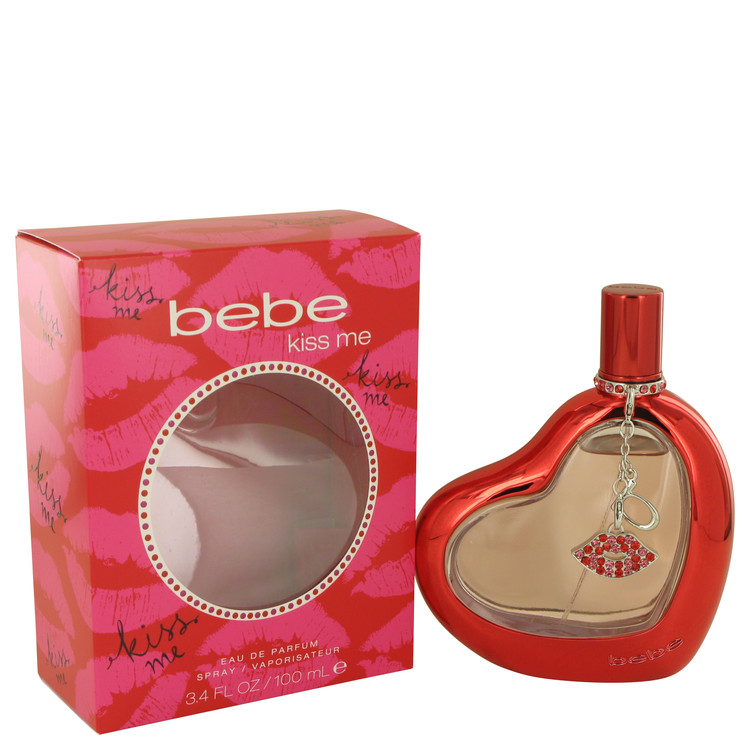 Bebe Kiss Me by Bebe 3.4 oz Eau De Parfum Spray for Women