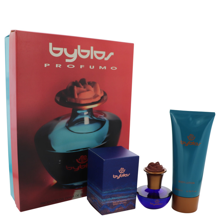 Byblos by Byblos 1.68 oz Eau De Parfum Spray + 6.75 Body Lotion for Women