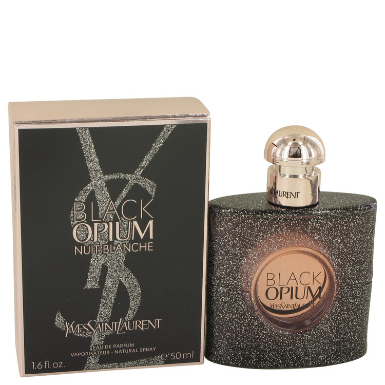 Black Opium Nuit Blanche by Yves Saint Laurent 1.7 oz Eau De Parfum Spray for Women