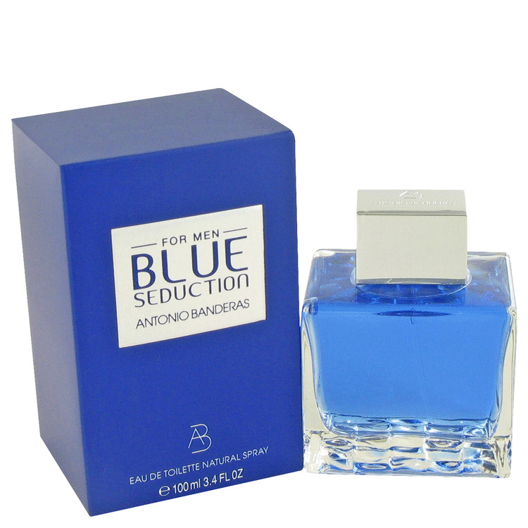 Blue Seduction by Antonio Banderas 3.4 oz Eau De Toilette Spray for Men