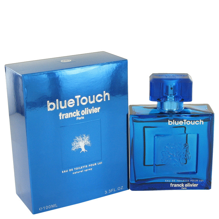 Blue Touch by Franck Olivier 3.4 oz Eau De Toilette Spray for Men