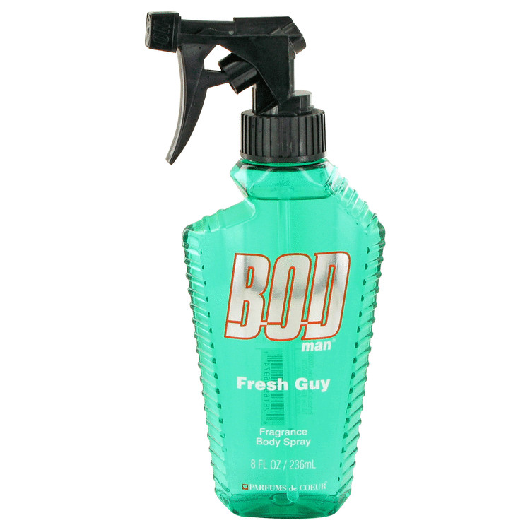 Bod Man Fresh Guy by Parfums De Coeur 8 oz Fragrance Body Spray for Men