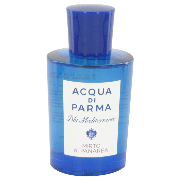 Blu Mediterraneo Mirto Di Panarea by Acqua Di Parma Eau De Toilette Spray (Unisex-Tester) 5 oz for Women