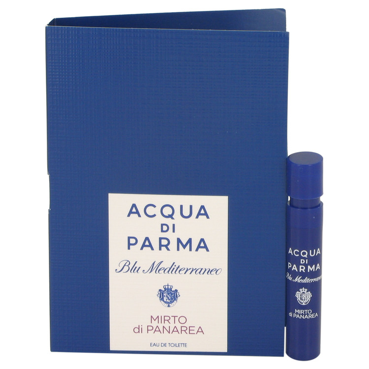 Blu Mediterraneo Mirto Di Panarea by Acqua Di Parma Vial (sample) .04 oz for Women