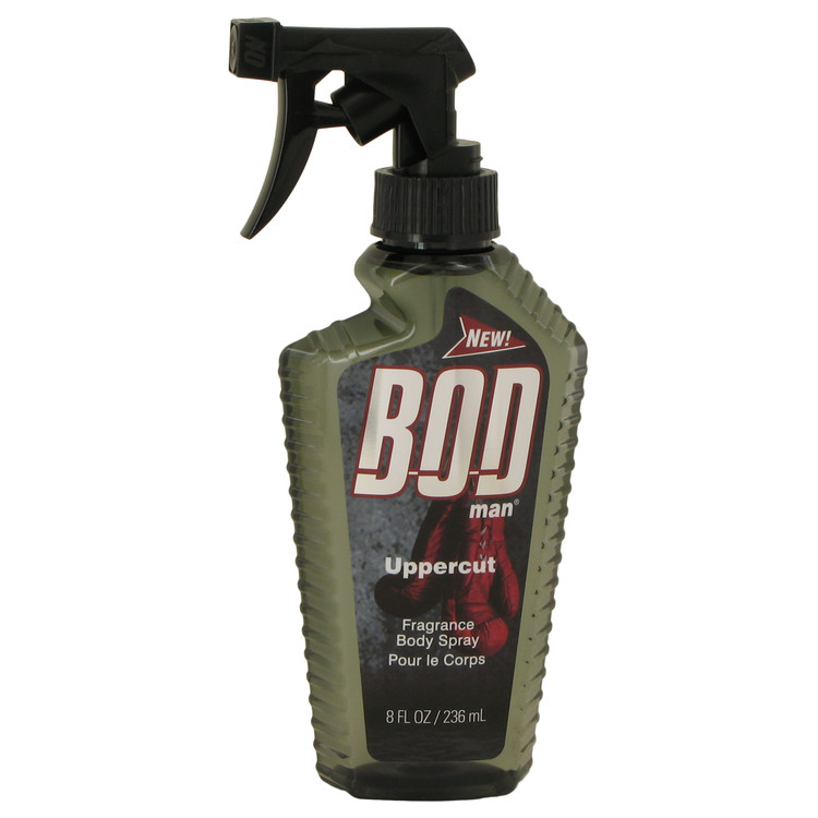 Bod Man Uppercut by Parfums De Coeur 8 oz Body Spray for Men