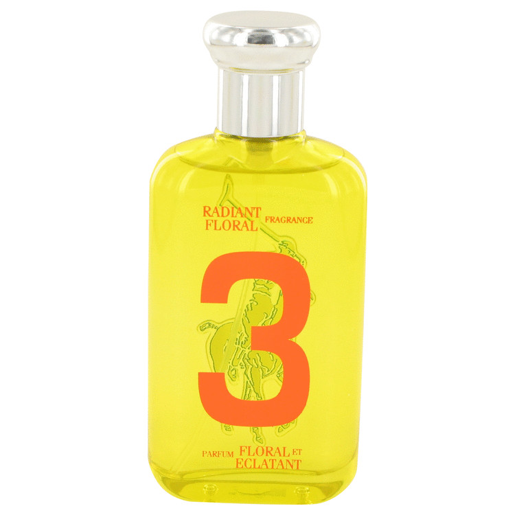 Big Pony Yellow 3 by Ralph Lauren Eau De Toilette Spray (Tester) 3.4 oz for Women