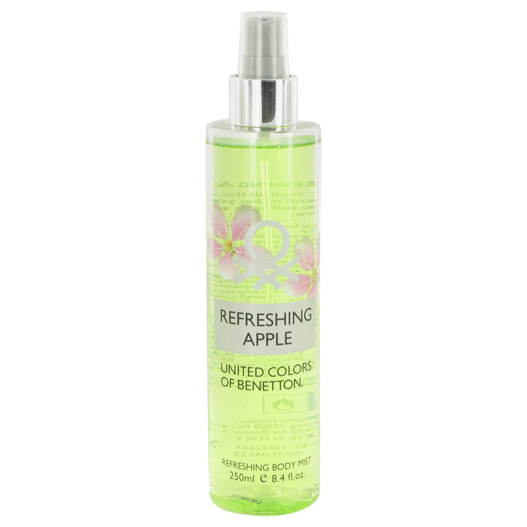 Benetton Refreshing Apple by Benetton 8.4 oz Refreshing Body Mist for Women
