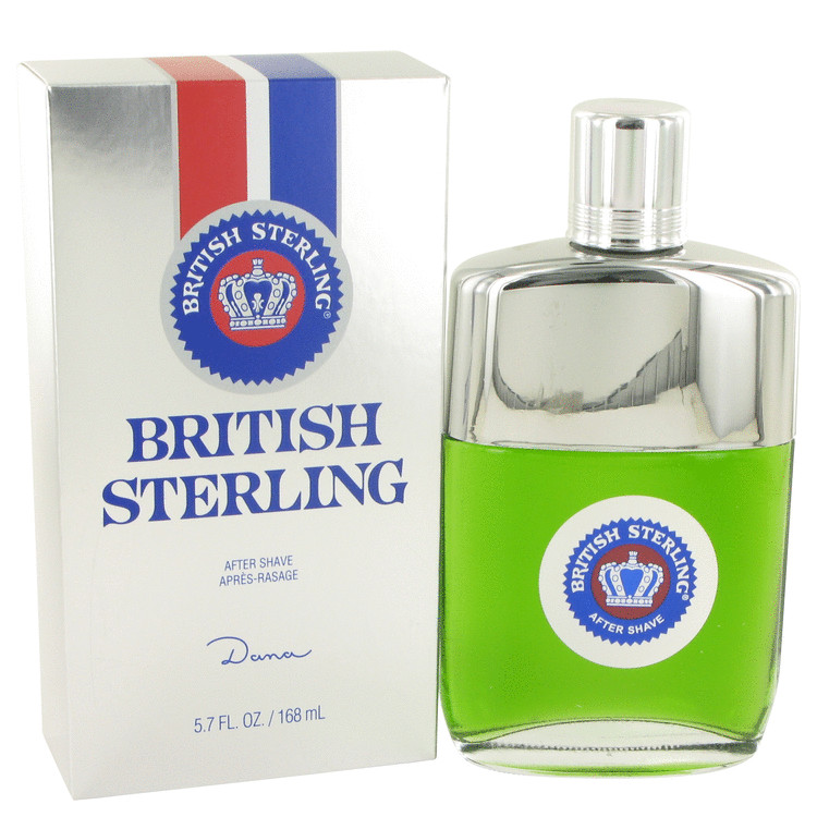BRITISH STERLING by Dana After Shave 5.7 oz for Men