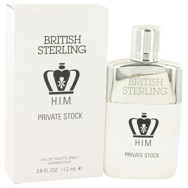 British Sterling Him Private Stock by Dana 3.8 oz Eau De Toilette Spray for Men