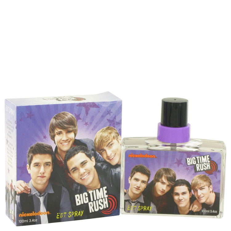 Big Time Rush by Nickelodeon 3.4 oz Eau De Toilette Spray for Men