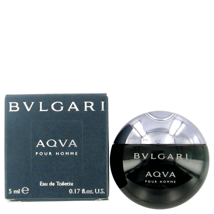 AQUA POUR HOMME by Bvlgari Mini EDT .17 oz for Men