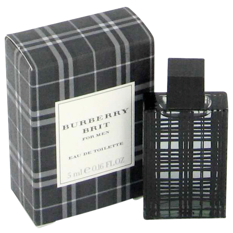 Burberry Brit by Burberrys Mini EDT .14 oz for Men