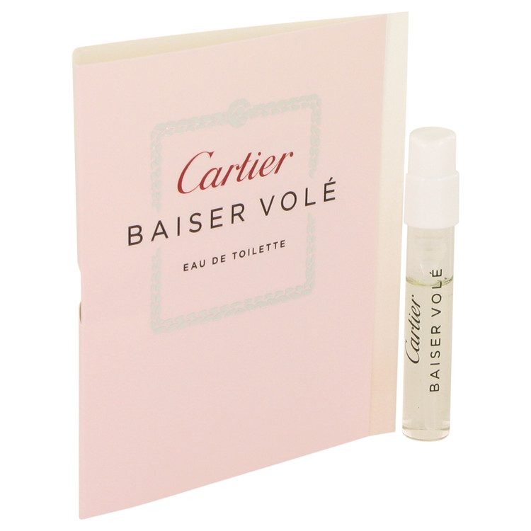 Baiser Vole by Cartier Vial EDT (sample) .05 oz for Women