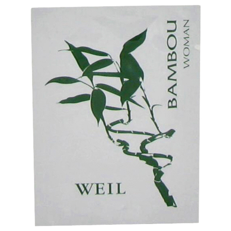 Bambou by Weil 0.06 oz Perfume Wipes for Women