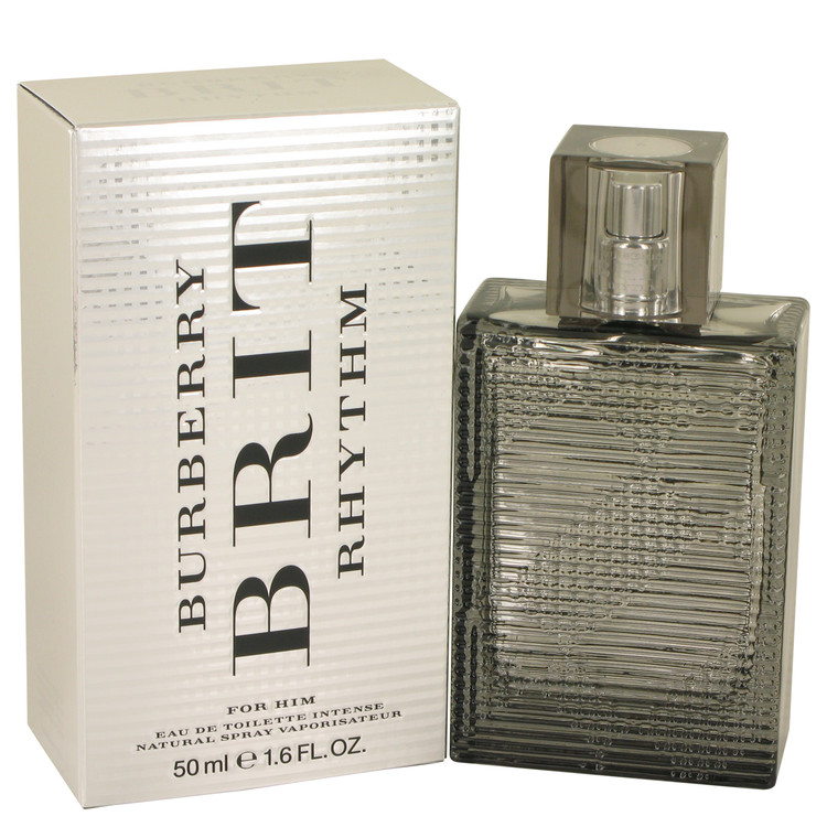Burberry Brit Rhythm Intense by Burberry Eau De Toilette Spray 1.7 oz for Men