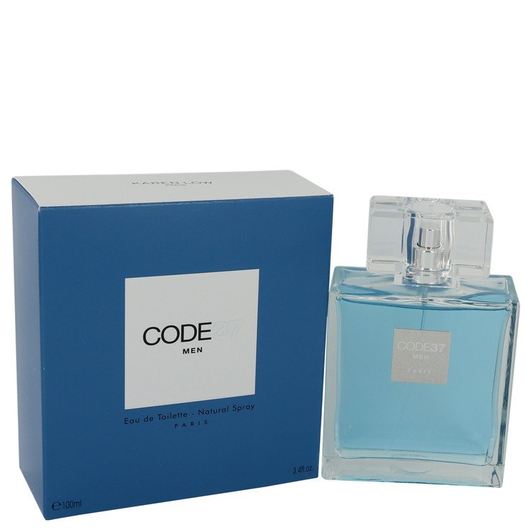 Code 37 by Karen Low 3.4 oz Eau De Toilette Spray for Men