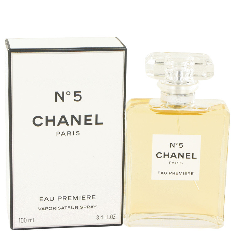 CHANEL # 5 by Chanel Eau De Parfum Premiere Spray 3.4 oz for Women