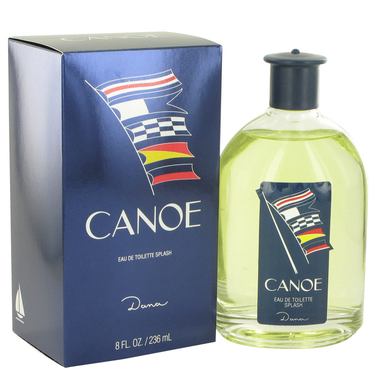 Canoe by Dana 8 oz Eau De Toilette / Cologne for Men