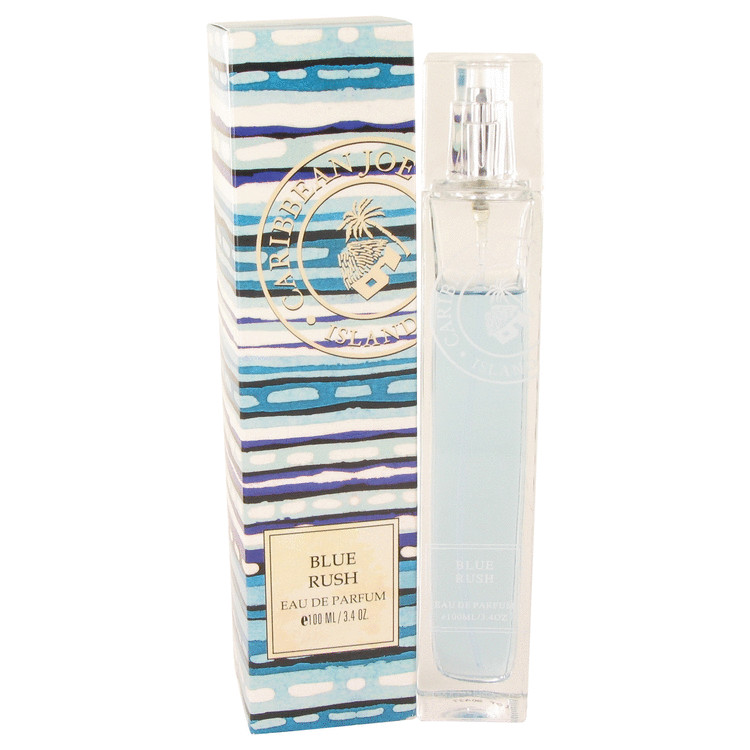 Blue Rush (Caribbean Joe) by Caribbean Joe Eau De Parfum Spray 3.4 oz for Women
