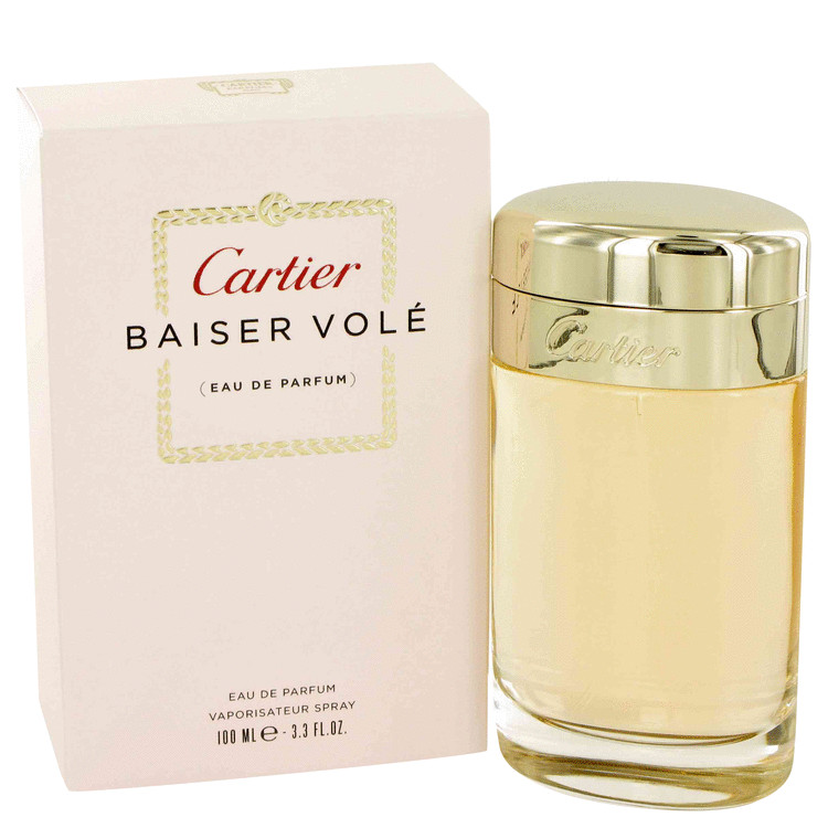 Baiser Vole by Cartier 3.4 oz Eau De Parfum Spray for Women