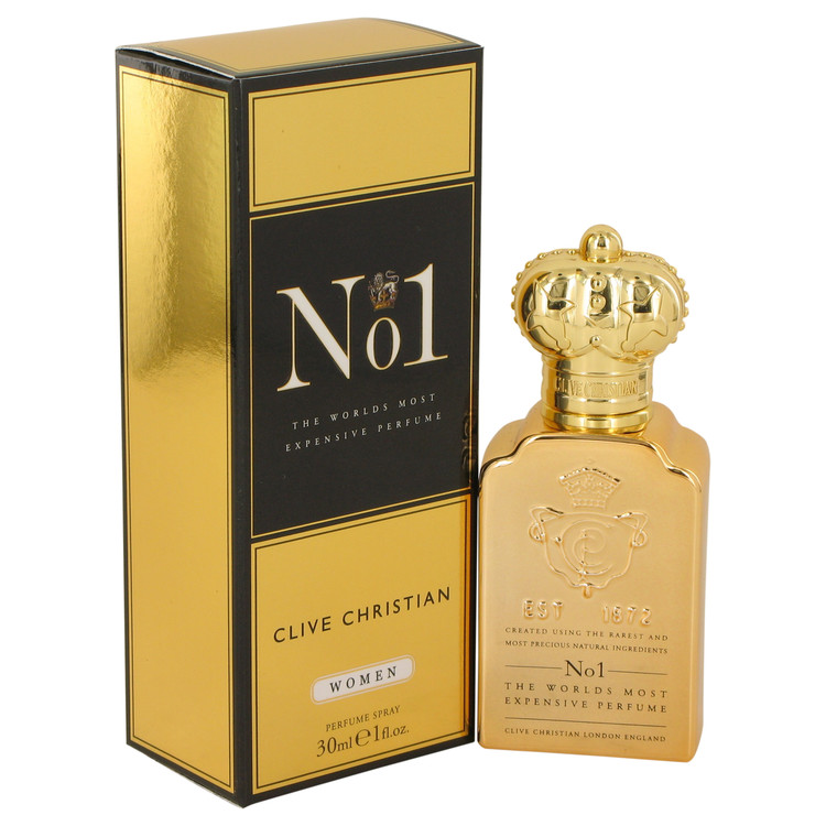 Clive Christian No. 1 by Clive Christian 1 oz Pure Perfume Spray for Women