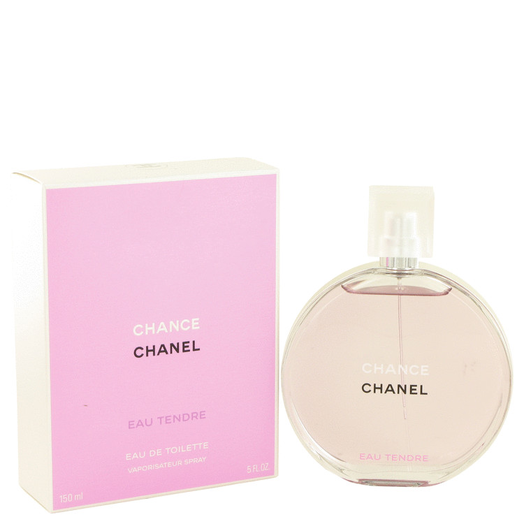 Chance Eau Tendre by Chanel Eau De Toilette Spray 5 oz for Women