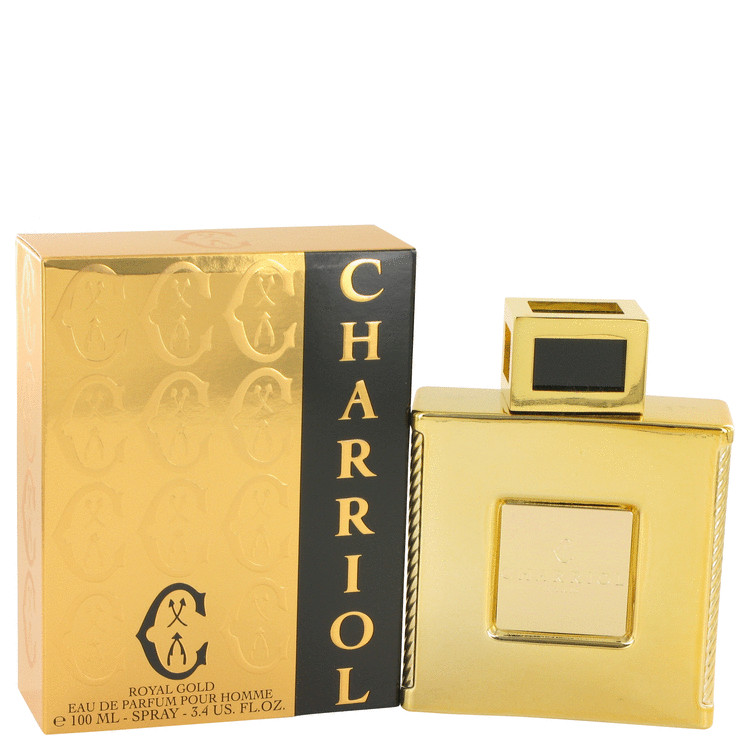 Charriol Royal Gold by Charriol 3.4 oz Eau De Parfum Spray for Men