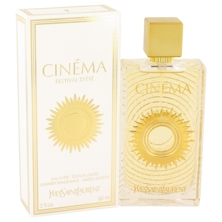 Cinema by Yves Saint Laurent 3 oz Summer Fragrance Eau D'Ete Spray for Women