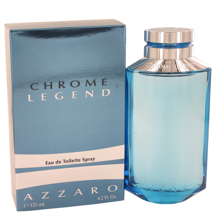 Chrome Legend by Azzaro 4.2 oz Eau De Toilette Spray for Men