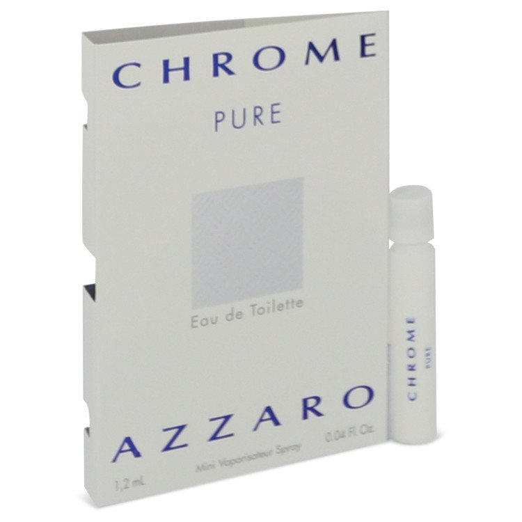 Chrome Pure by Azzaro 0.05 oz Vial for Men