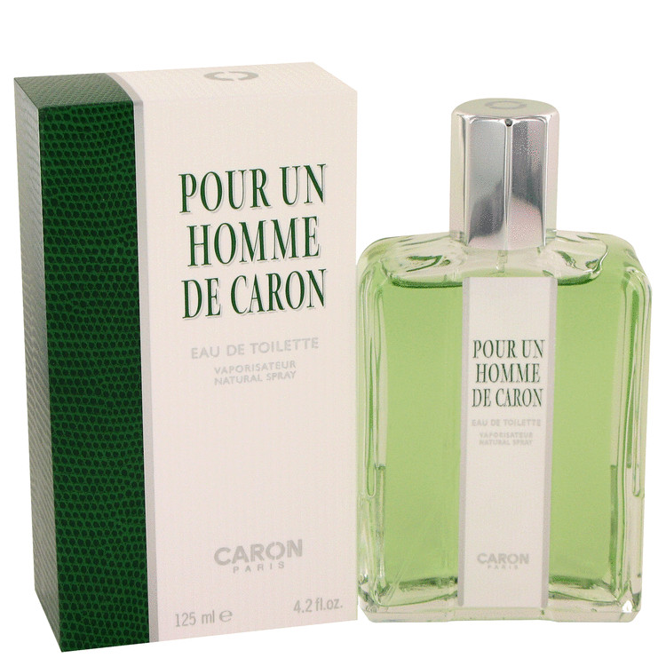 Caron Pour Homme by Caron 4.2 oz Eau De Toilette Spray for Men