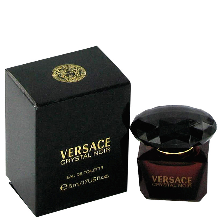 Crystal Noir by Versace 0.17 oz Mini EDT for Women