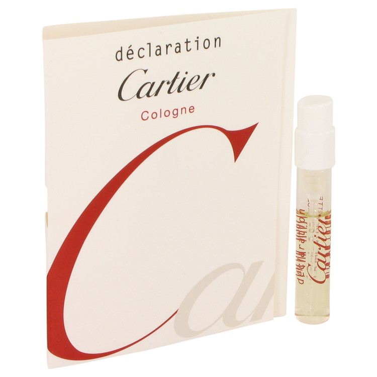 Declaration Cologne by Cartier Vial (sample) .05 oz for Men
