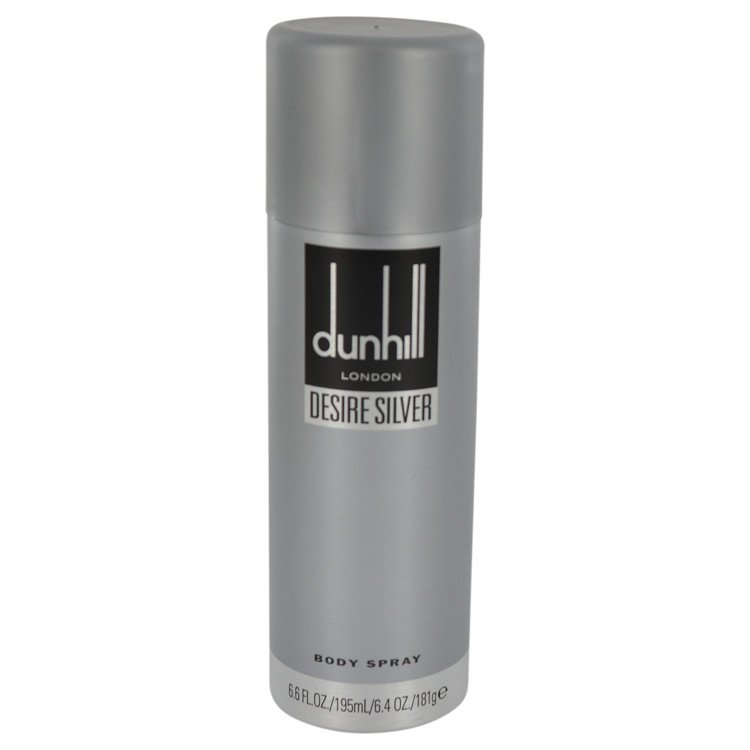 Desire Silver London by Alfred Dunhill 6.4 oz Body Spray for Men