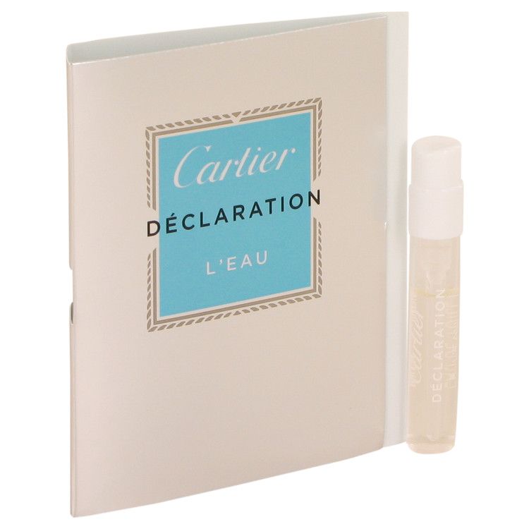 Declaration L'eau by Cartier 0.05 oz Vial for Men