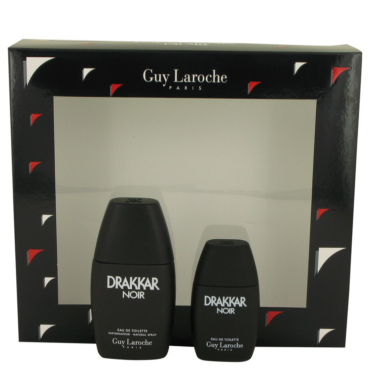 Drakkar Noir by Guy Laroche 1 oz Eau De Toilette Spray + .5 oz Mini EDT for Men